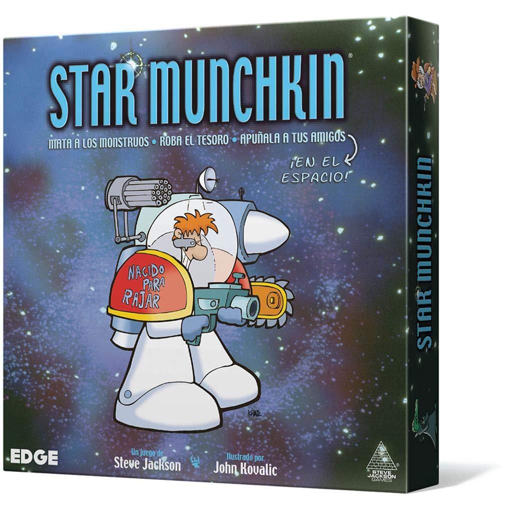 Edge Entertainment- Star Munchkin - Español, Color (EESJSM01): Amazon.es: Juguetes y juegos