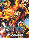 One Piece Coloring Book: Anime Coloring Book for kids,adults Teenagers,Fan,lovers Your Favorite One Piece characters luffy & friends High Quality ... Amazing Drawings To Relax relieve stress