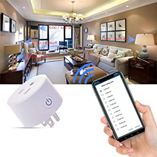 Smart Plug, Works with Apple HomeKit Technology (iOS12 or +), Alexa/Google Assistant, Timer, No Hub Required, FCC,CP65,Onl...