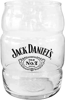 Boelter Brands Jack Daniels Jack Daniels 16oz Glass16oz Barrel Style Glass, Clear, One Size