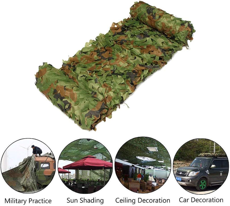 FKDENET Tarnnetz Woodland Grün Camo Mesh Net für Camping Militr Dekoration Schattierung 2x3m   3x3m   3x4m   4x5m   4x6m   5x6m (Größe   8x8m)