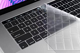 MacBook Pro 13 inch with Touch Bar 2019/2018/2017/2016 Ultra-Thin Clear Keyboard Protector Model - A1706, A1889 A2159