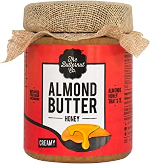The Butternut Co. Almond Butter Honey, 200 gm (No Refined Sugar, Dairy Free, 100% Natural)