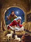 Posterazzi Collection Holy Family with Sheep 23 Poster Print by Marcello Corti (9 x 12)