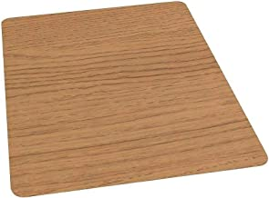"""Prevent Scratches and Scuffs 36""""x 48"""" Laminate Chair Doors for Hard Floors Chestnut 951073"""