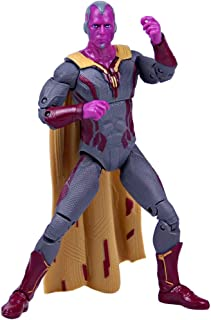 Huangyingui Vision Action Figure Hero Action Figure Movable Ornaments 6.7 Inch Doll Child Birthday Hero Doll