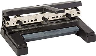 Swingline Hole Punch, Heavy Duty Hole Puncher, Adjustable, 2-4 Holes, 40 Sheet Punch Capacity, Black (74450)