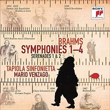 Brahms: Symphonies Nos. 1-4, Serenades Nos. 1 & 2