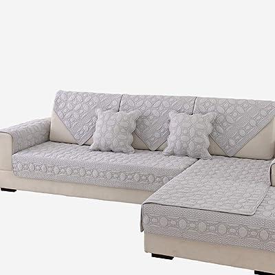 HYXL Antideslizante Funda para sofá,Algodón Funda de sofá ...
