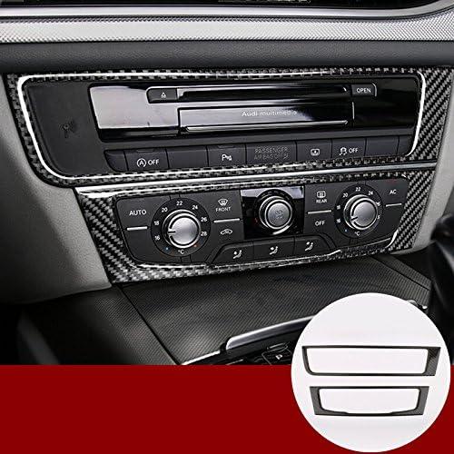 Max 78% OFF Carbon Fiber Center Console CD Panel Cover for 2pcs A7 Audi Trim Sale item