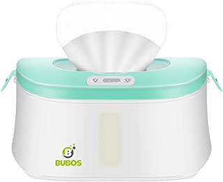 Bubos Upgraded Baby Wipe Warmer and Wet Wipes Dispenser with Advanced LED Night Light