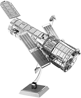 Metal Earth Fascinations MMS093 502513, Hubble Telescope, Construction Toy - 1 Board, Ages 14