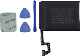 Vvsialeek A2059 Batería compatible para Watch Series 4 iWatch4 S4 44 mm GPS + LTE Cellular versión A2059 con kit de herram...