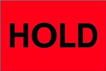 Fluorescent Red Tape Logic TLDL1146 LabelsDestroy 1 Roll of 500 Labels 2 x 3