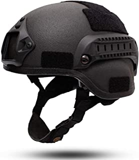 Kevlar Level 3 Bulletproof Helmet, Personal Safety Equipment, With Anti-Vibration System, Head And Tail Adjustment, Cushioning System