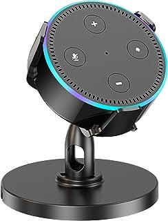Pobon Table Holder for Dot 2nd Generation & Xiaomi AI Speaker, 360° Adjustable Desktop Stand Mount for Smart Speaker, Improves Sound Visibility and Appearance, Home Voice Assistant Pedestal Cradle