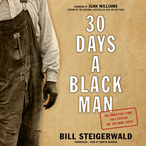 30 Days a Black Man audiobook cover art