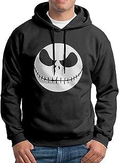 Men's Jack Pumpkin King Classic Cotton Long Sleeve Hoodie Sweatshirt