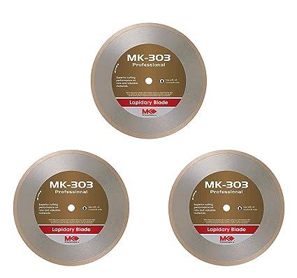 MK-301 166069 Gemking 12 Inch x .065 Inch x 1 Inch Wet Lapidary Diamond Blade