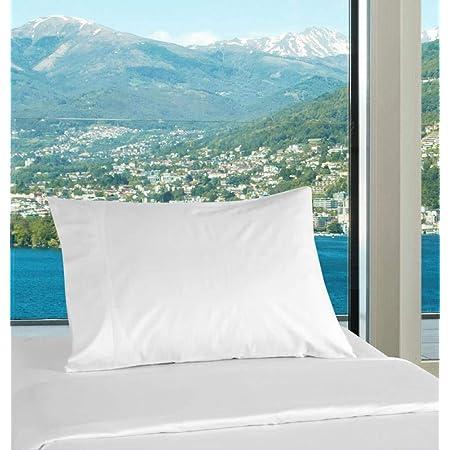 16X24CMS COT Bed Polycotton Pillow CASE 2 Pack Black