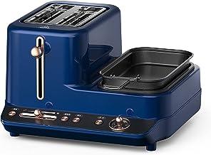 Máquina de café da manhã multifuncional - torradeira três em um pequena máquina de café da manhã doméstica - torradeira au...
