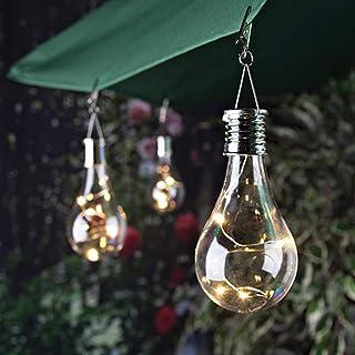 Mobestech solar bulb LED solar bulb Led Bulb Light hanging lamp bulb hanging light bulb Solar Light Bulbs Waterproof Outdo...