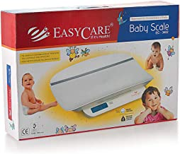 EASYCARE Baby/Office Weighing Scale Along with Measuring Tape (Maximum Capacity 20 Kgs, White)