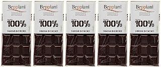 Set de 5 Tabletas 100% Masa de Cacao – 450 g, Beppiani
