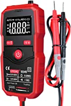 Multímetro digital automático Lasamot UA9342, resistência à corrente direta/alternada, com função de retenção de dados e d...