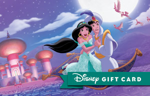 Magic Carpet Ride Gift Card | Disney Gift Card