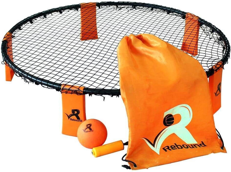 Rebound Ball Game Set  3 Ball Set, Drawstring Bag, Pump and Rules  An Epic Ball Game of Razor Sharp Reactions