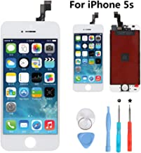 New Sign iPhone 5S 4.0 Inch Screen Replacement LCD Digitizer Full Assembly Kit (iPhone 5s Whtie)