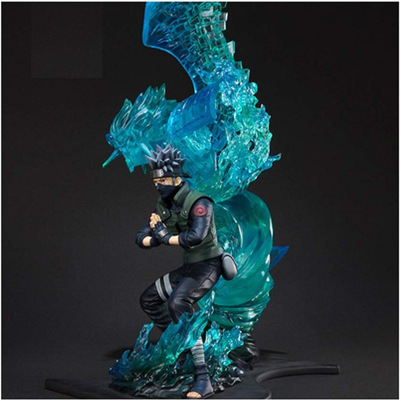 Zhizaibide Naruto  Kakashi Naruto Ornaments Gifts Crafts Collection Decorations (17 Inches)
