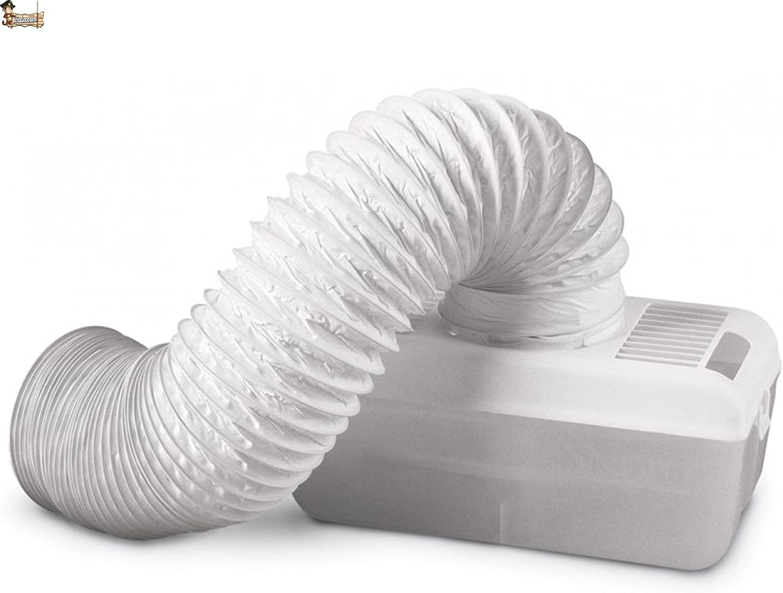 BricoLoco.com Condensador secadora evacuación. Depósito de condensados vapor de agua. Convierte tu secadora de evacuación en una de condensación sin salida de aire externa.