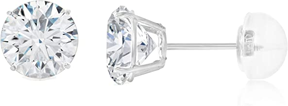 3/4 carat earrings