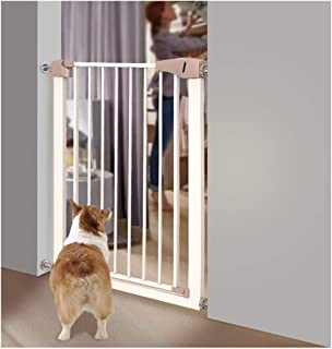 ZEMIN Baby Safety Gates Indoor Extra Wide Barrier Hallway, Guard Fence Door Auto Close, Multi-size (Color : H 76cm, Size : W 159-166cm)