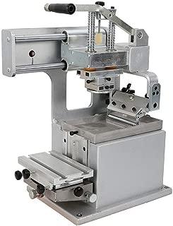 Wanlecy Manual Pad Printer, 500PCS/h Single-Color Manual Pad Printing Machine with Sealed Ink Cup for Sign Logo Printing DIY Transfer 80×80mm