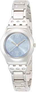 Swatch Women's Analogue Quartz Watch with Stainless Steel Bracelet – YSS222G