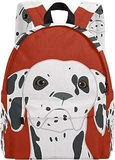 Zaini e borse sportive Zaino di scuola di college casual di animali marrone e bianco di cioccolato zaino da viaggio per uomini e donne