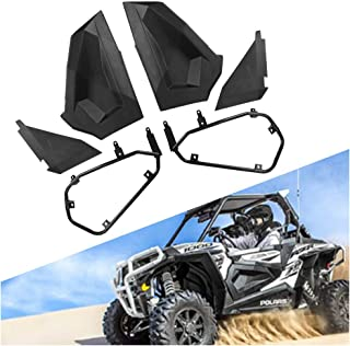 HAKA TOUGH Half Lower Door Insert Panels Compatible for 2014-2019 Polaris RZR XP 1000 900 S Turbo 2-Door