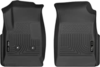 Husky Liners Fits 2015-19 Chevrolet Colorado, 2015-19 GMC Canyon Weatherbeater Front Floor Mats