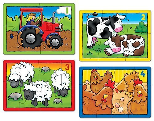 Farm Four In A Box   First Counting Puzzles by