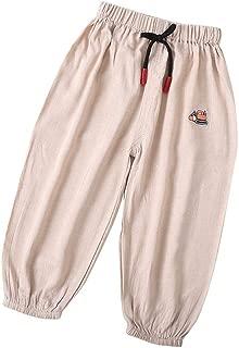 OPAWO Unisex Baby Trousers Plain Baby Long Pants Bottom for Infant Boy Girl Pack of 3 0-2 Years