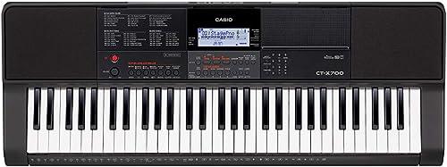 Casio CTX700 61 Key Keyboard
