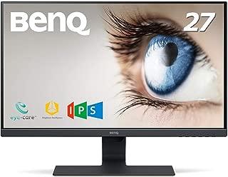 BenQ モニター ディスプレイ GW2780 27インチ/IPS/ノングレア/フレームレス/ブルーライト軽減/輝度自動調整B.I.技術搭載/D-sub/HDMI1.4/DP1.2/スピーカー