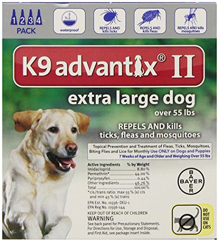 Bayer Advantix II Supplement for Extra Large Dogs