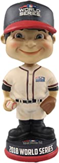 FOCO MLB New York Mets Unisex WORLS Series Vintage BOBBLEWORLS Series Vintage Bobble, Team Color, OS