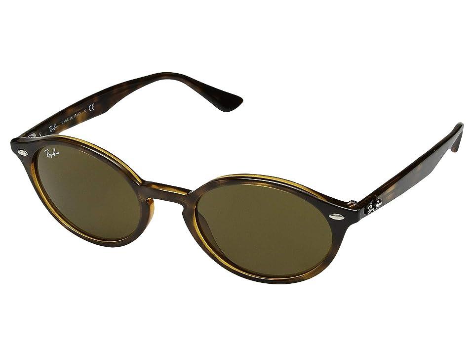 Ray-Ban RB4315 51 mm. (Havana/Dark Brown) Fashion Sunglasses