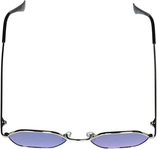 Silver/Blue/Mirror Lens