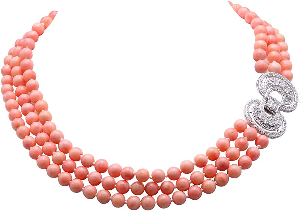Natural Coral Necklace Coral Necklace Pink Necklace GN25 Coral Jewelry Pink Stone Necklace Pink Coral Necklace Dainty Gold Necklace